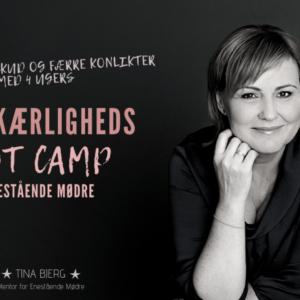 Selvkærligheds Boot Camp  for Enestående Mødre – 4 ugers online Boot Camp – VIP